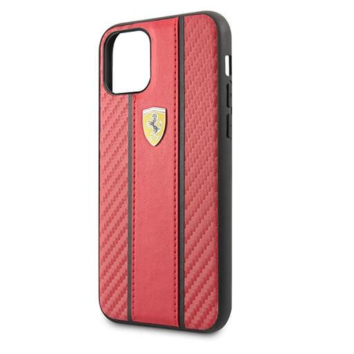 cg mobile ferrari fiber case قاب محافظ گوشی آیفون فیبر کربن سی جی موبایل طرح فراری