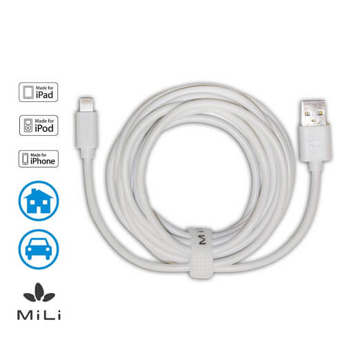 mili 8pin lightning to usb cable