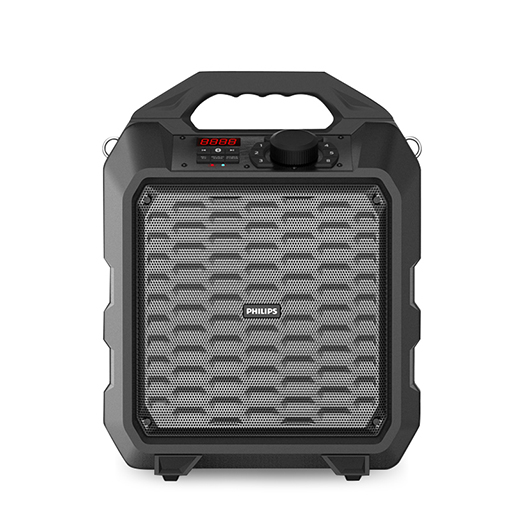 Philips square dance outdoor portable speaker