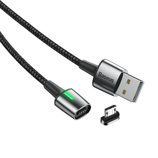 baseus zinc magnetic lightning data cable