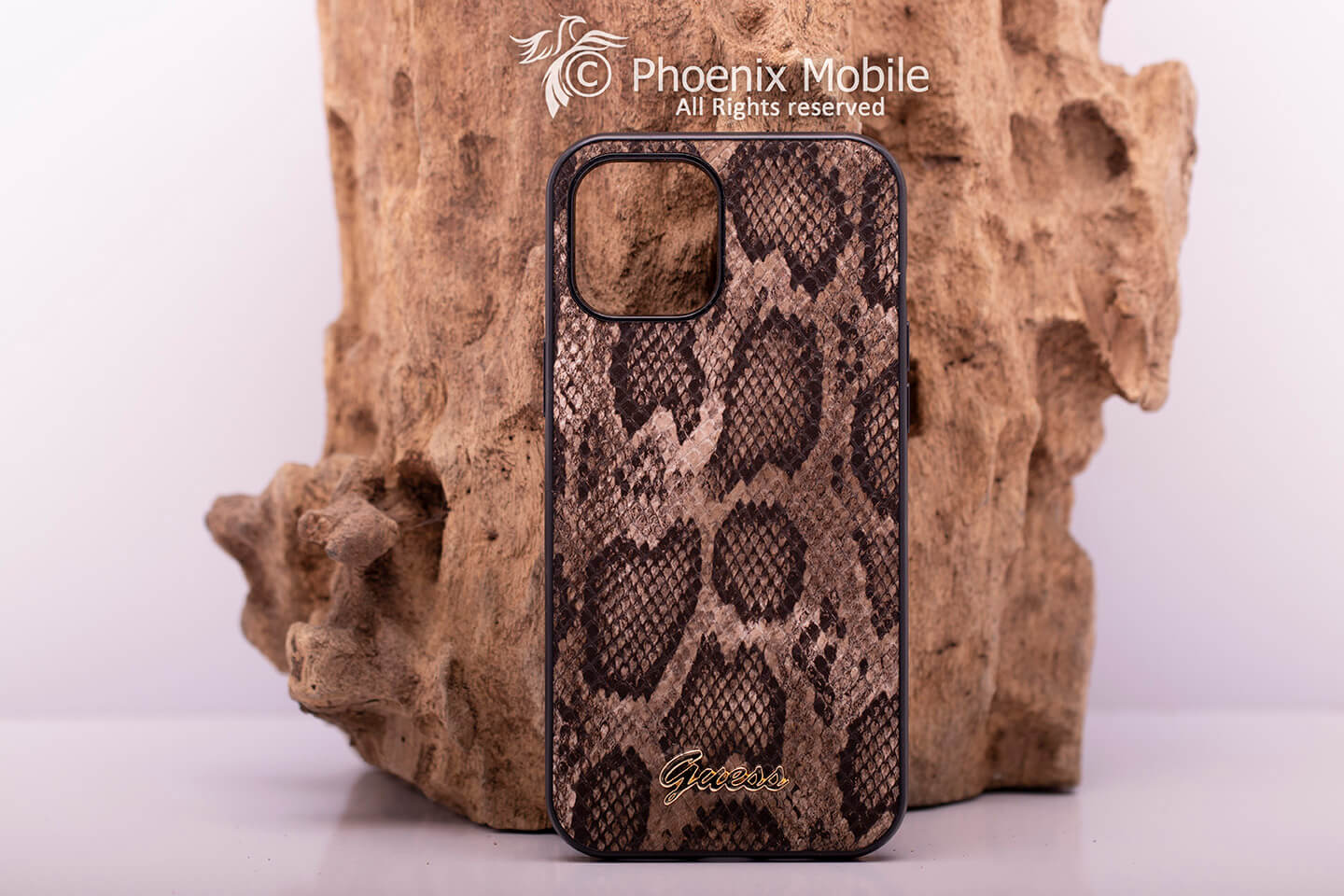 CG-mobile Guess leather python 12pro max