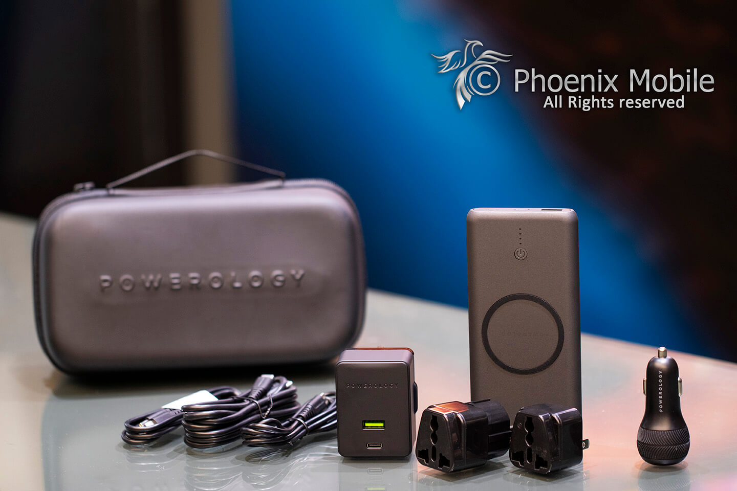 Powerology 8in1 PD charging combo