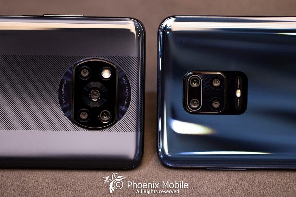 Poco x3 vs Note 9 pro بررسی دقیق دو گوشی و دوربین ها