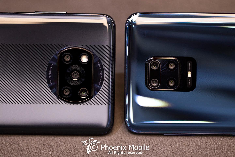 بررسی و مقایسه Poco x3 و Redmi Note 9 Pro شیائومی دوربین ، باتری ، سخت افزار ، طراحی