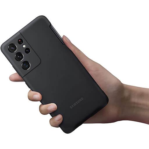 S21 ultra silicone cover s pen - کاور سیلکونی اورجینال - قلم اس - کاور دوربین